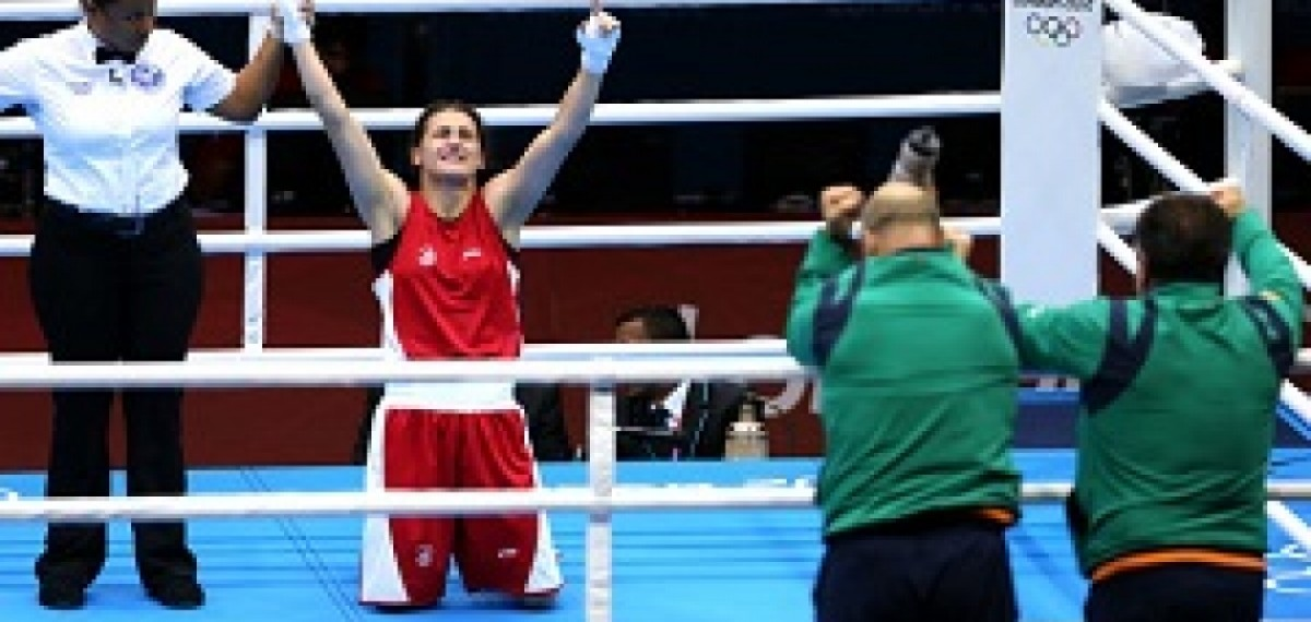 OLYMPIC GAMES London 2012 - Katie Taylor