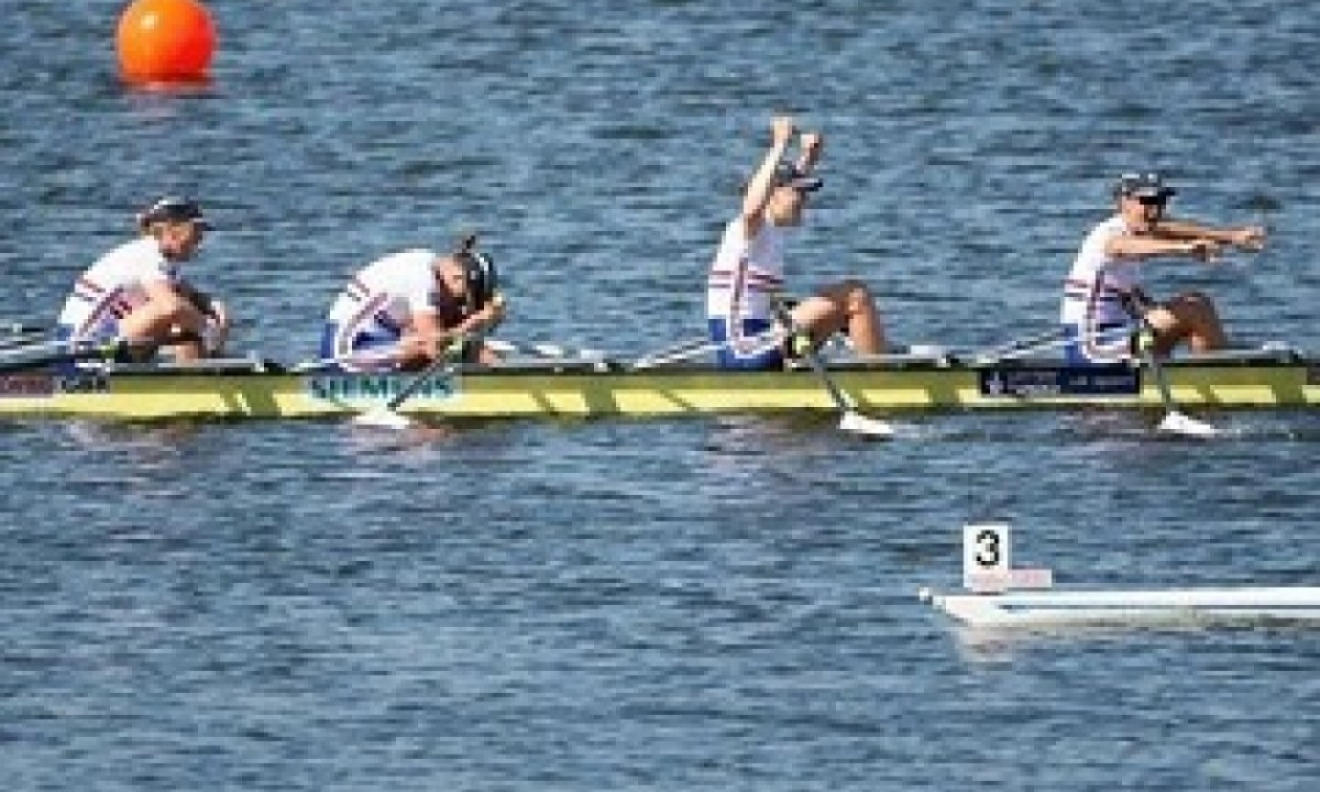 2010 WORLD ROWING CHAMPIONSHIPS Great Britain Women's  Quad