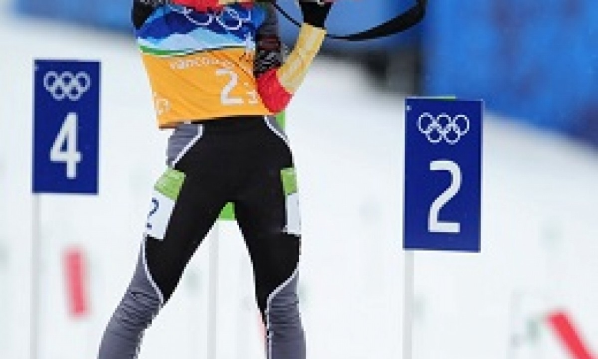 WINTER OLYMPIC GAMES Vancouver 2010 Anna Bogaliy-Titovets