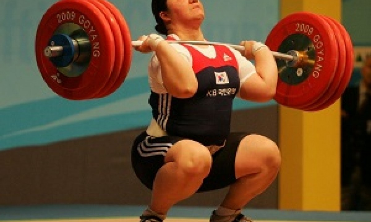 2009 WORLD Weightlifting CHAMPIONSHIP JANG MI-RAN