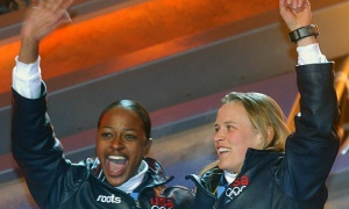 WINTER OLYMPIC GAMES 2002 Salt Lake City - Bobsled dupla