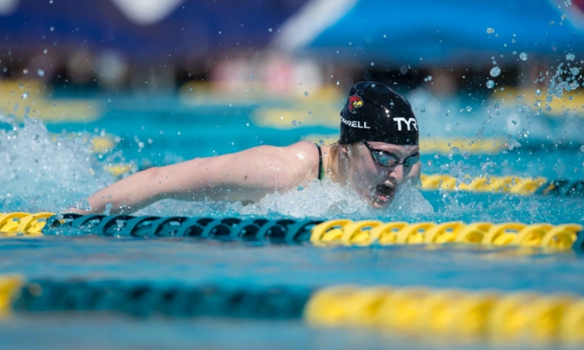 WORLD SWIMMING CHAMPIONSHIPS - Kelsi Worrel