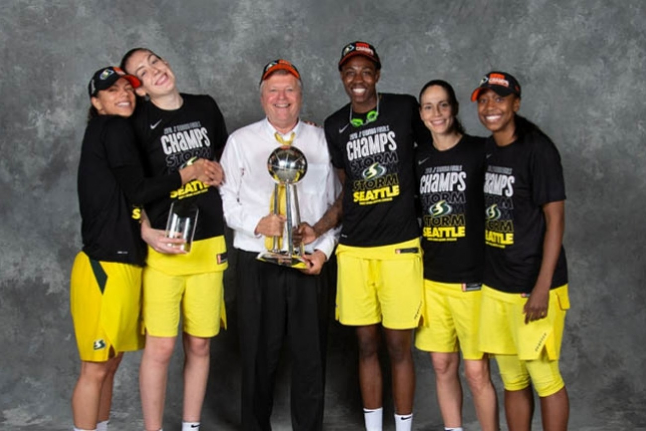 WNBA FINALS 2018 - DAN HUGHES - SEATTLE STORMS