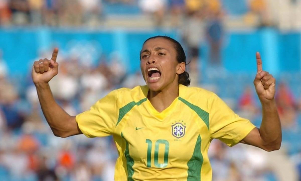 FIFA BEST FEMALE PLAYER - MARTA VIEIRA DA SILVA - BRASIL