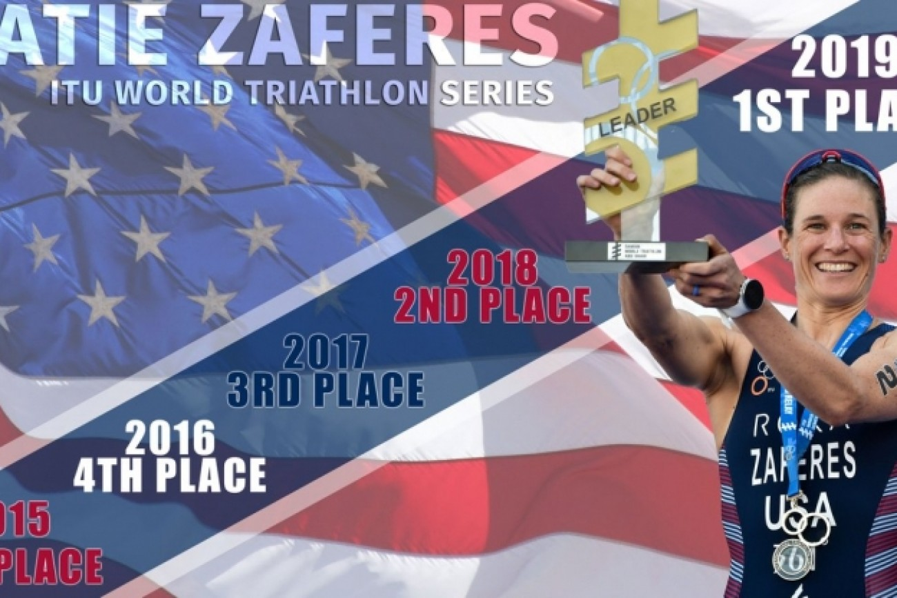 ITU WORLD CHAMPIONSHIP SERIES 2019 - Katie Zaferes - USA
