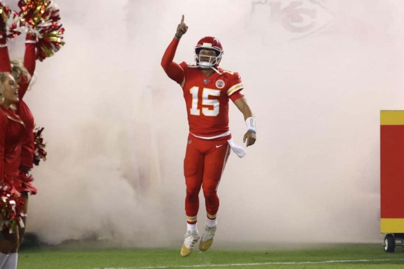 2019 SUPER BOWL LIV - PATRICK MAHONES - KANSAS CITY CHIEFS