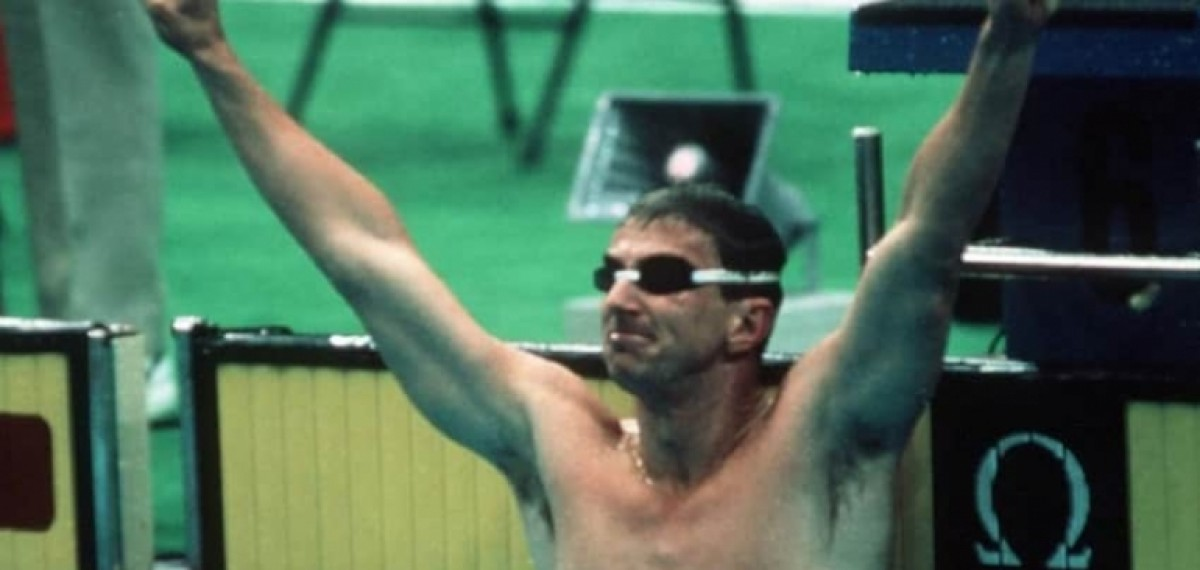 OLYMPIC CHAMPION SEOUL'88 and WORLD RECORD HOLDER DUNCAN ARMSTRONG (AUS) - 200m freestyle
