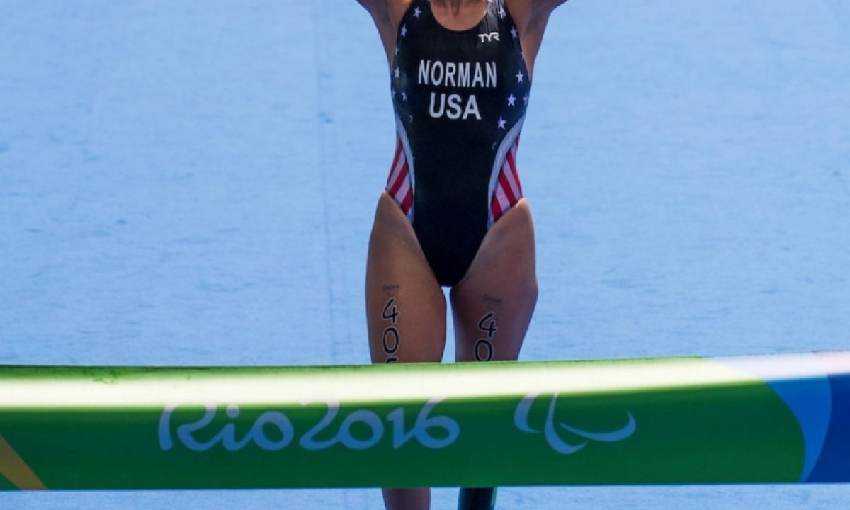 NCAA WOMEN'S CROSS COUNTRY DIVISION I 2019 - PARALYMPIC AND WORLD CHAMPION  GRACE NORMAN - PARATRIATHLON