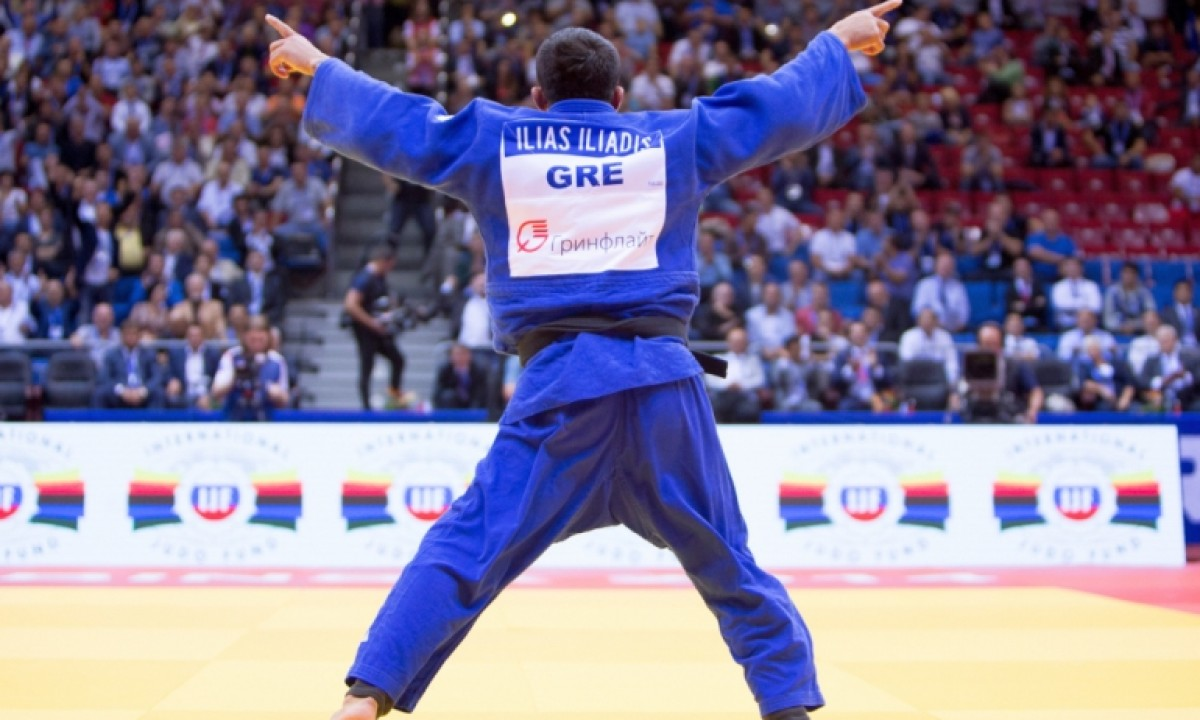 OLYMPIC AND WORLD CHAMPION - ILIAS ILIADIS - GRÊCIA