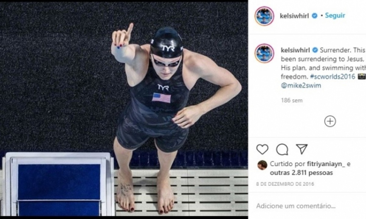 2019 World Aquatics Championships - Olympic and World Champion Kelsi Dahlia - USA