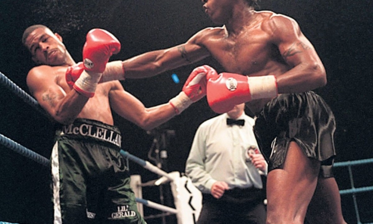 WBO and WBC middleweight champion - Nigel Gregory Benn (Great Britain)