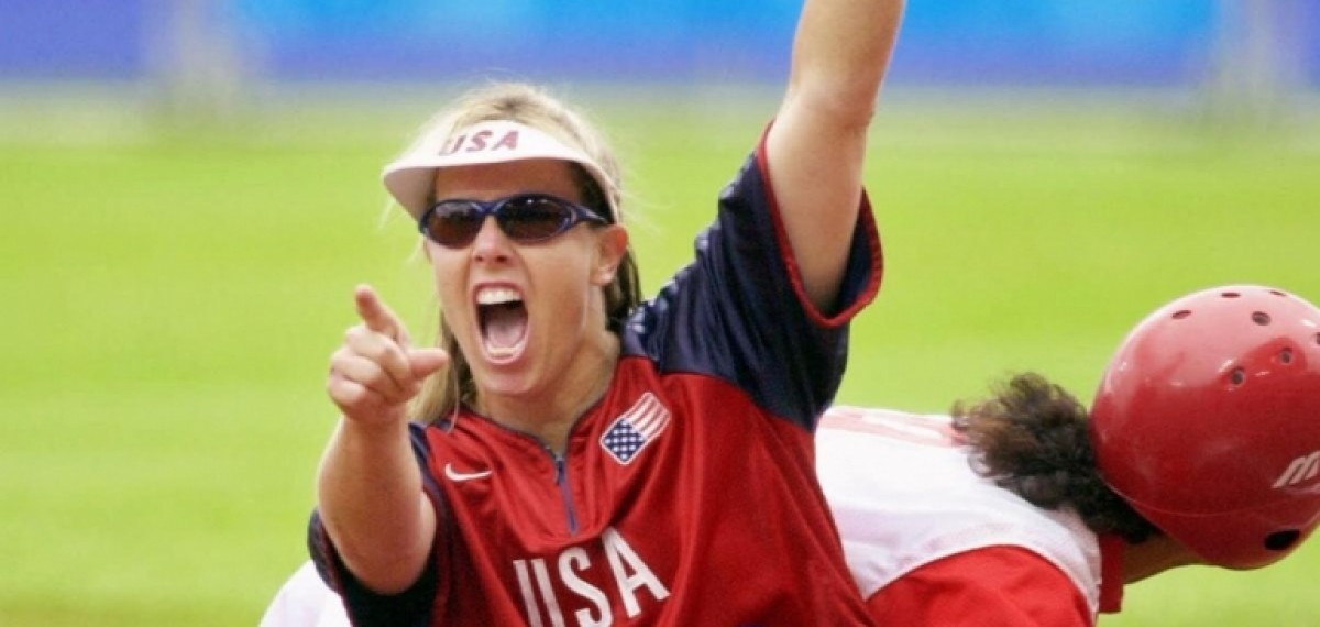 TWO-TIME OLYMPIC CHAMPION IN SOFTBALL  - DOROTHY RICHARDSON (USA)