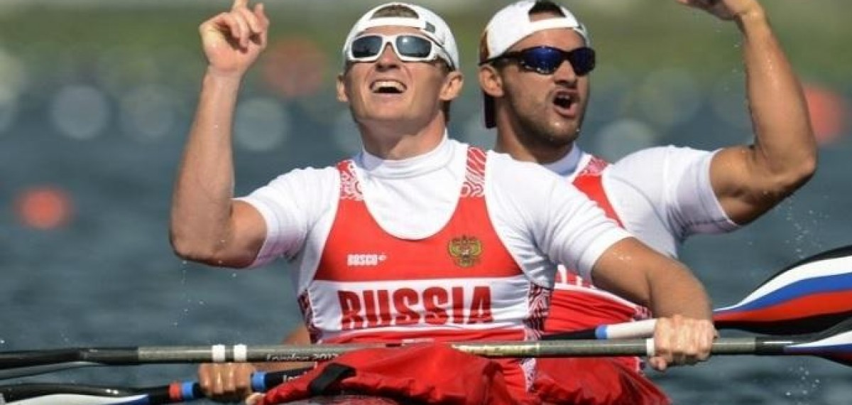 OLYMPIC AND WORLD CHAMPION CANOING - Yury Postrigay - RUS