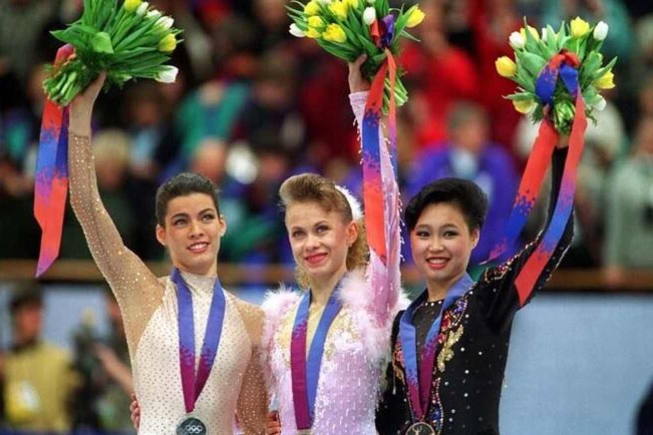 OLYMPIC AND WORLD CHAMPION FIGURE SKATING - Oksana Baiul UKRANIA
