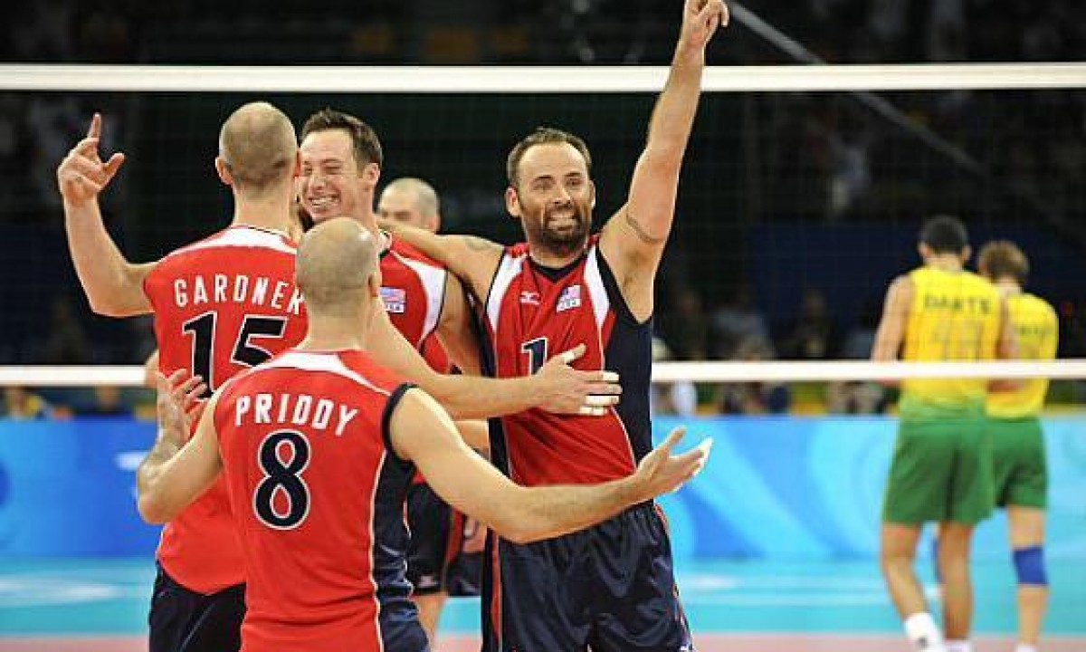 WORLD AND OLYMPIC CHAMPION - VOLLEYBALL - REID PRIDDY (USA)