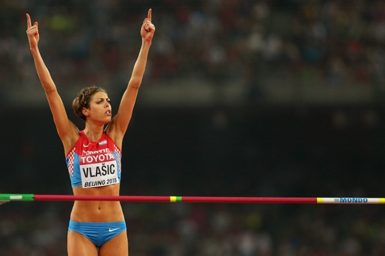6X WORLD CHAMPION - 2X OLYMPIC MEDALLIST - Blanka Vlasic - Croatia